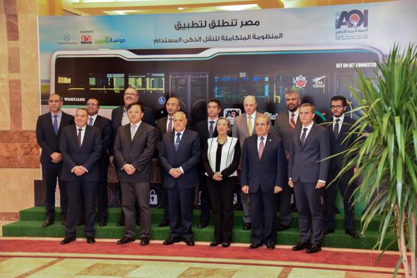 الهيئة العربية للتصنيع تعلن عن إطلاق منظومة الأتوبيسات الكهربائية الذكية