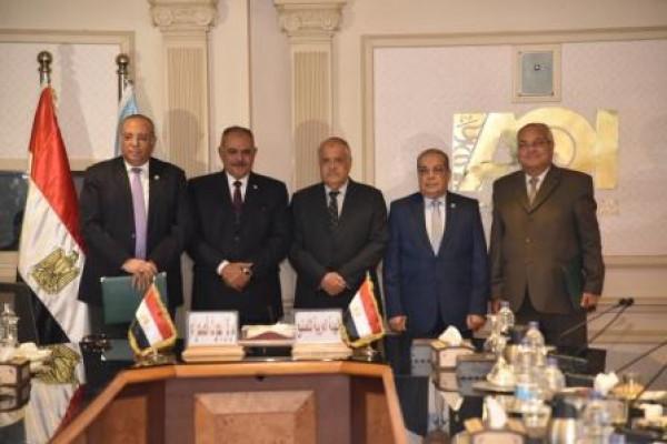 الهيئة العربية للتصنيع توقع بروتوكول تعاون مع مركز بحوث الصحراء