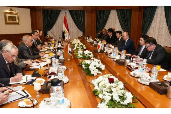 الهيئة العربية للتصنيع تستقبل وفد شركة ميتسوبيشي اليابانية العالمية