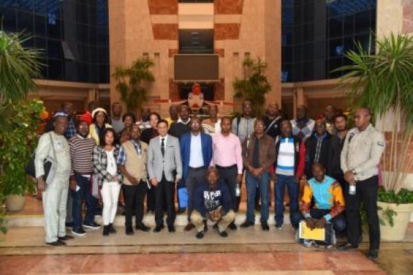 الهيئة العربية للتصنيع تستقبل وفد المتدربين من الشباب الأفارقة