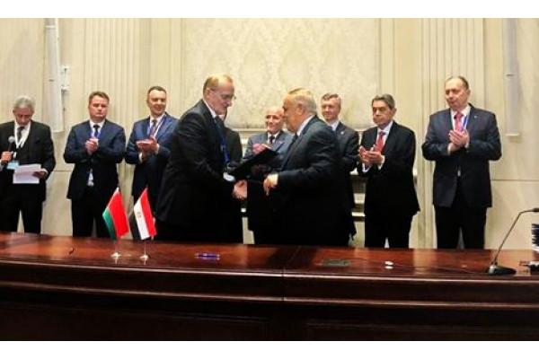 الهيئة العربية للتصنيع والأكاديمية الوطنية للعلوم البيلاروسية  توقعان إتفاقية للتعاون والشراكة