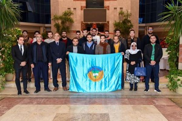 الهيئة العربية للتصنيع تستقبل طلبة جامعة طنطا