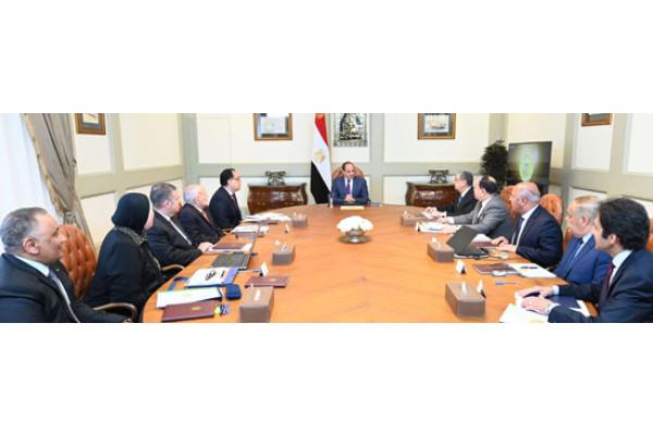 السيسى يوجه بالشروع فى إطلاق استراتيجية صناعة السيارات فى مصر