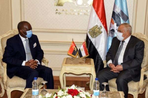 الهيئة العربية للتصنيع تستقبل سفير جمهورية أنجولا الشقيقة