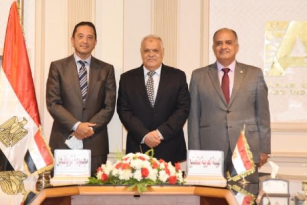 تعاون العربية للتصنيع ومجموعة تراينجل لتنفيذ المشروعات القومية بمصر والمنطقة العربية والإفريقية