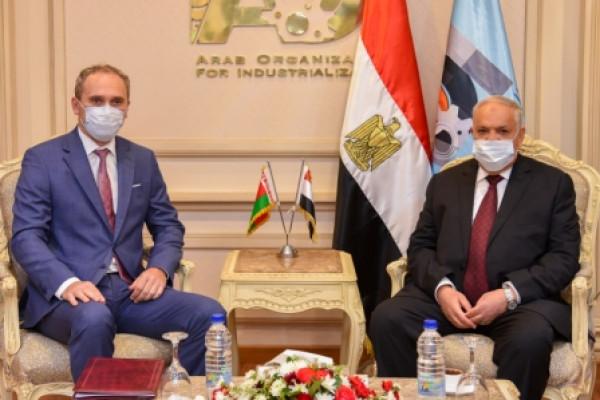 الهيئة العربية للتصنيع تستقبل سفير بيلاروسيا لبحث الشراكة وتوطين التكنولوجيا وتدريب الكوادر البشرية
