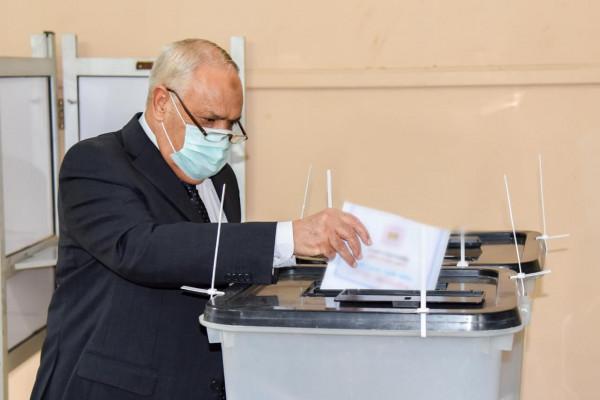 التراس :الإنتخابات  رسالة للعالم بما تعيشه مصر من أمن واستقرار