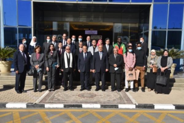 الهيئة العربية للتصنيع تستقبل وفد مركز الهلال للدراسات الأفريقية