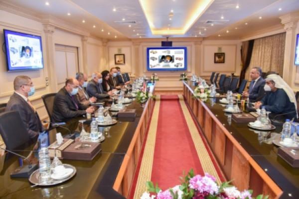 تعزيز مجالات التعاون المصري -الإماراتي- الأفريقي بين الهيئة العربية للتصنيع وجمعية رجال الأعمال المصريين الأفارقة