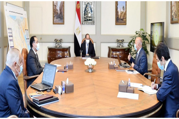 President El-Sisi directed the immediate implementation of the plan to develop the national railway network