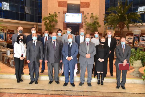 الهيئة العربية للتصنيع تستقبل سفير رومانيا  وتبحث الشراكة في مجالات التصنيع المختلفة