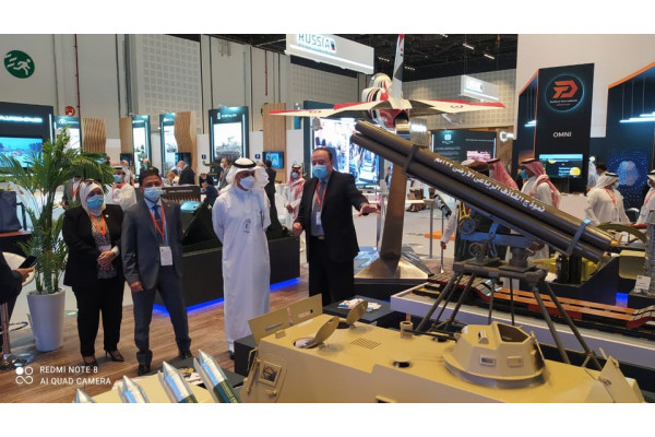 Arab Industrialization receives the governor of the Saudi General Authority for Military Industries
