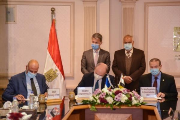 توطين تكنولوجيا عمرة تربينات محطات توليد الكهرباء بالتعاون بين العربية للتصنيع وكبري الشركات الفرنسية الدولية