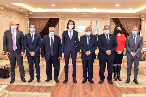 مباحثات العربية للتصنيع وشركة ألستوم الفرنسية العالمية