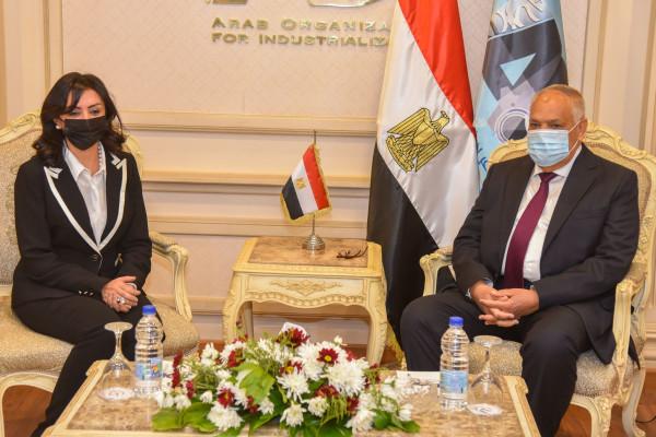 بروتوكول التعاون بين الهيئة العربية للتصنيع والمجلس القومي للمرأة