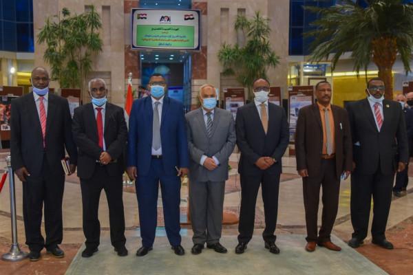 الهيئة العربية للتصنيع تستقبل وفد منظومة الصناعات الدفاعية السودانية