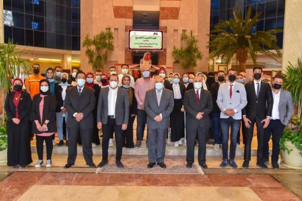 العربية للتصنيع تستقبل وفد المشاركين ببرلماني الطلائع والشباب