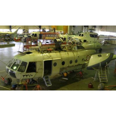 خطوط الإصلاح والعمرات للهليكوبترات مى8 ، مى17