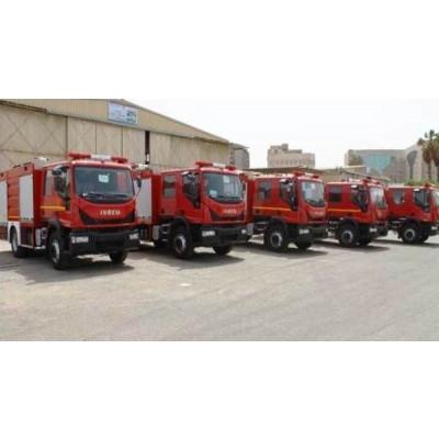 سيارات الإطفاء والإنقاذ